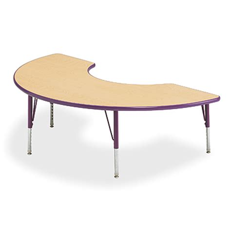 half moon activity table school tables smith system
