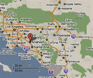 where is anaheim california on the map sighting reports 2010