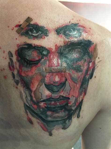 club tattoo las vegas fight club done by clayton howell from revolt