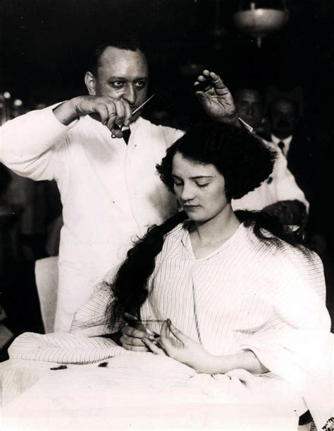 women getting haircuts in barbershops hotel mcalpin barber shop 1920s a woman trades her