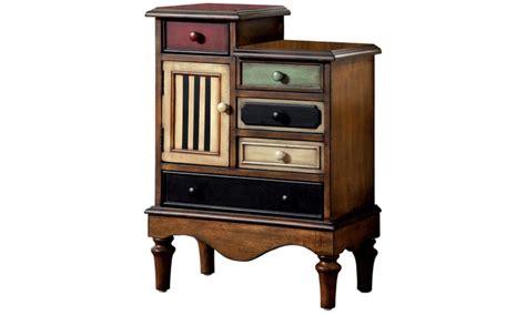 multi colored cabinets neche multi colored accent cabinet groupon