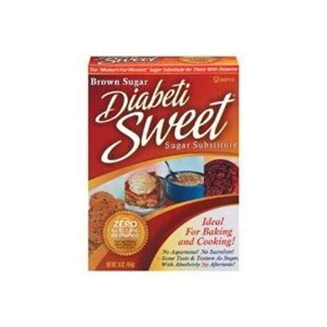 amazon com diabetisweet brown sugar substitute 16 oz 454