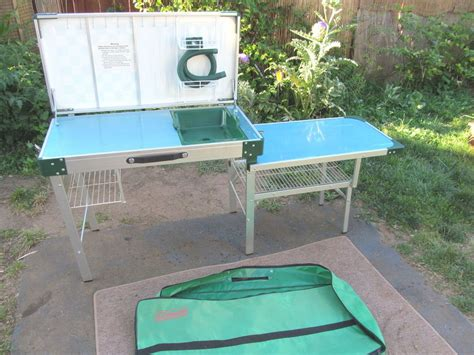 Coleman Outfitter Kitchen by Vintage Coleman C Kitchen Cing Cook Stove Station On