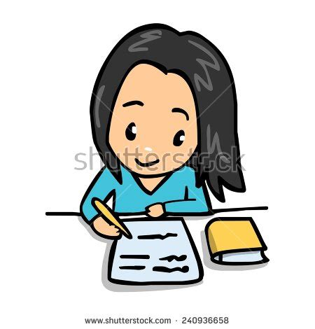 Do Home Work by Do Homework Ilustraci 243 N De Stock240936658