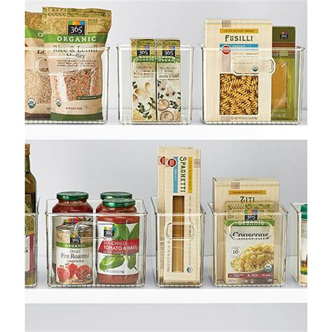 Kitchen Cabinet Storage Containers Linus Pantry Binz The Container Store