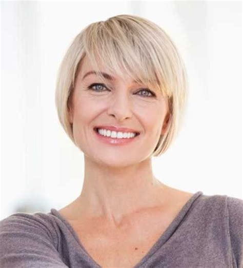 short hairstyles for ordinary women over 50 1000 ideas about short straight bob on pinterest
