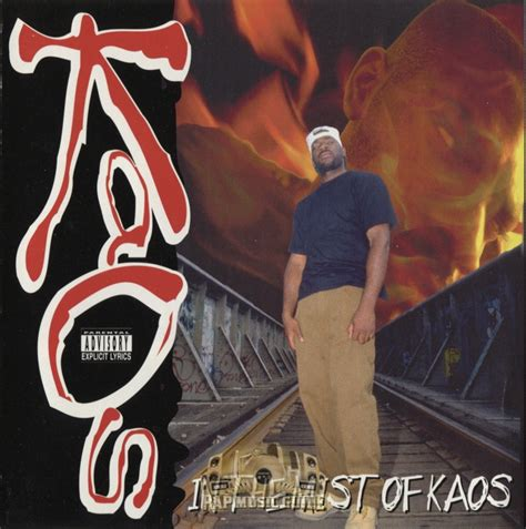 Kaos T Wayne kaos in the mist of kaos 1st press cd rap guide