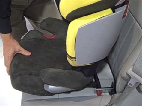 cybex solution  fix booster seat youtube