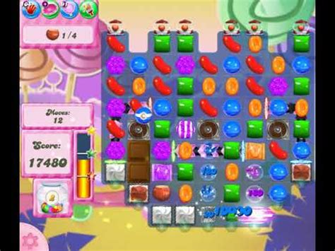 candy crush saga level 2751 with no boosters! youtube