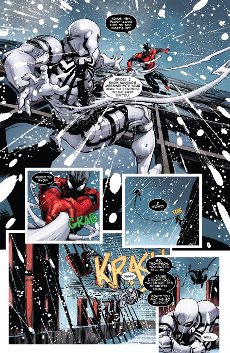 agent antivenom vs spiderman maniac symbiote