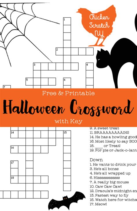 Printable Crosswords And Answers