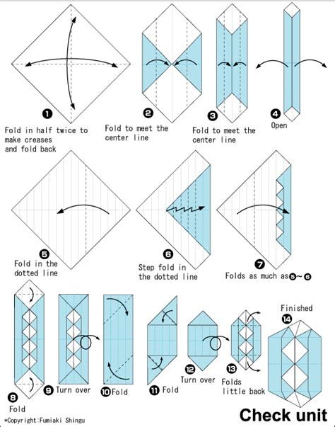 Unit Polyhedron Origami - origami check dipyramid easy origami