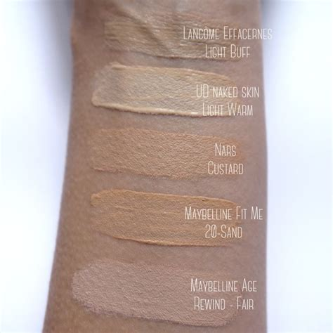 Decay Concealer decay skin light warm swatches mahkeup a