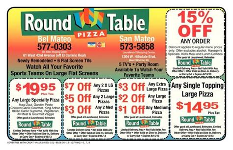 Table Discount Code by Menlo Park Coupons
