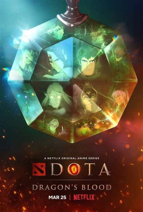 dota dragons blood poster  goldposter