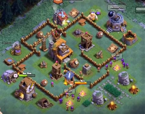 update layout coc top 18 best builder hall 4 base new update 2000