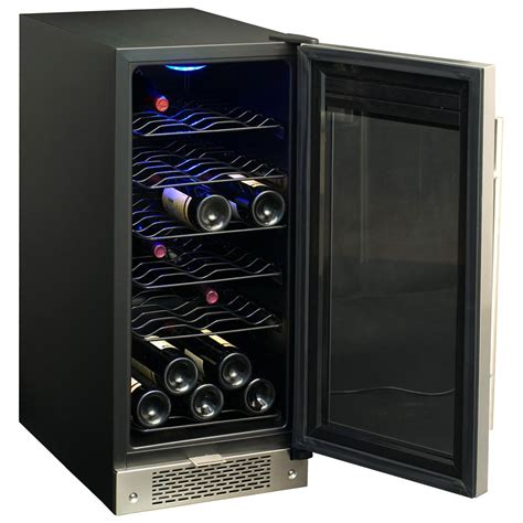 under cabinet wine cooler canada spt 174 32 bottle under counter wine and beverage cooler