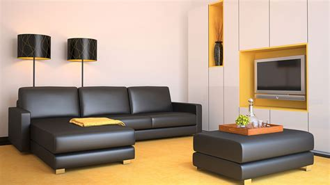 ideas para decorar salon sofa negro c 243 mo combinar un sof 225 negro hogarmania