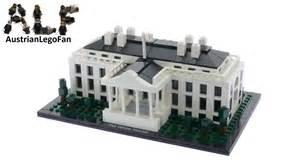 lego architecture white house lego architecture 21006 the white house lego speed build review youtube
