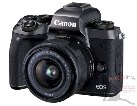 Canon Eos M5 canon eos m5 specifications photo rumors