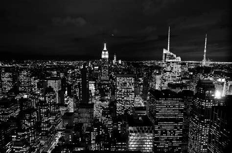 imagenes nueva york blanco y negro fotos gratis horizonte en blanco y negro noche