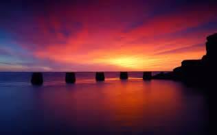 10 beach sunset desktop wallpapers freecreatives