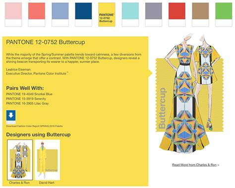 pantone color trend report fashion stylechicago com pantone has spoken these are the most fashionable colors