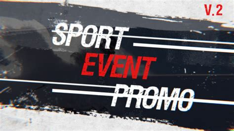 sport event promo by videogusev videohive