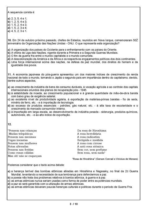 ATIVIDADES HISTÓRIA 9° ANO EXERCÍCIOS PROVAS AVALIAÇÕES I