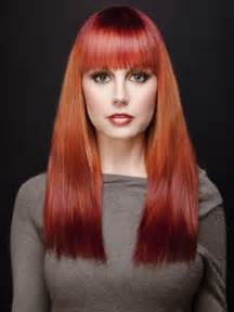 reddish orange hair color orange ombre hair colors ideas