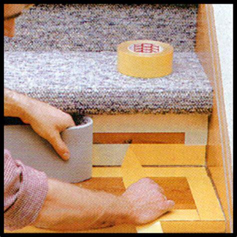 teppich treppenstufen ohne kleben treppenstufen mit teppichboden belegen anleitung