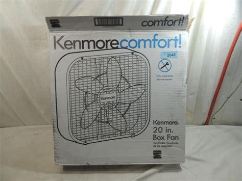 kenmore comfort kenmore comfort 20in box fan