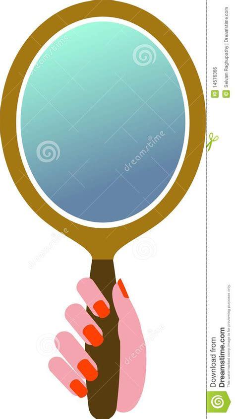 spiegel le de spiegel de royalty vrije stock afbeelding