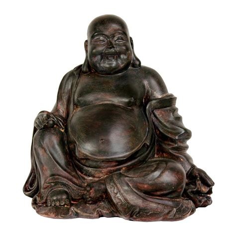Buddha Decorations For The Home by Shop Oriental Furniture Oxidized Bronze 11inch Sitting