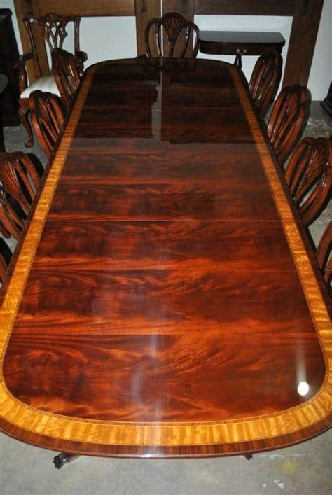 American Made Dining Tables American Made Mahogany Dining Table 10 Ft 10 000