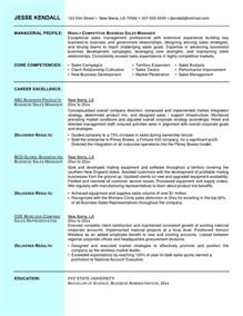 A Sle Resume by Resume Of A Sales Manager Student Resume Template