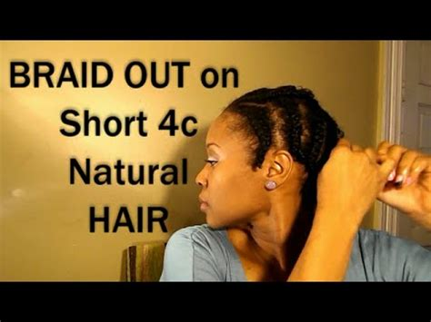 braid out on 4c hair ft cococurls youtube 4c braid out on short natural hair results youtube