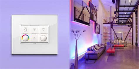 vimar light control colorful lighting atmospheres