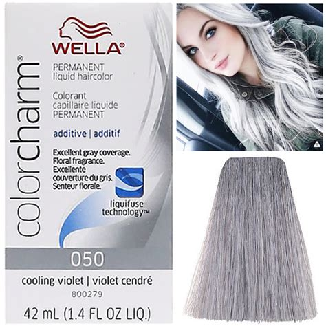 cooling violet toner wella on gray hair wella color charm toner t14 or t18 beauty hairstyle
