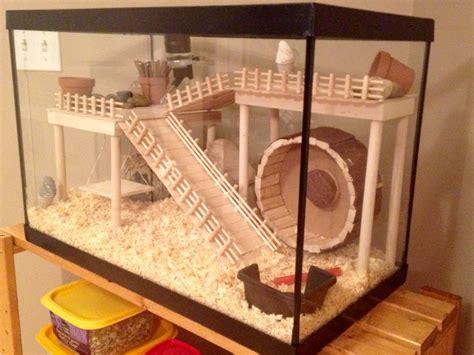 diy hamster cage hamster cage diy aquarium conversion hamster