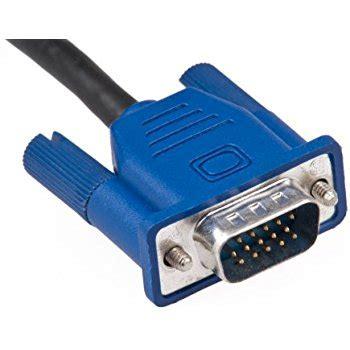 amazon.com: lcd monitor cable, vga monitor video (blue