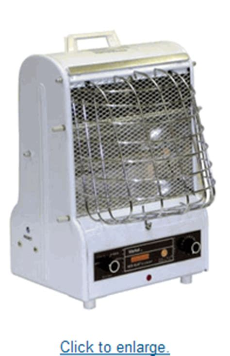 space heater and fan combo portable 5120 btu combination radiant and fan forced heater