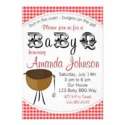 baby backyard barbecue babyq shower invitation 5 quot x 7 quot invitation card zazzle