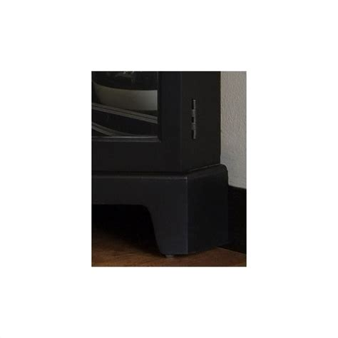 pulaski oxford black corner curio cabinet 21220