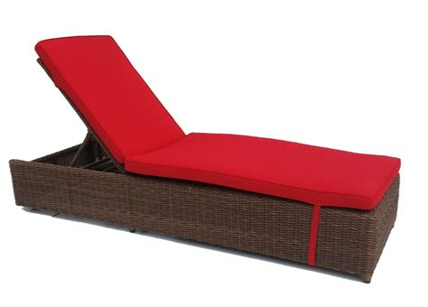 wicker outdoor chaise patio wicker chaise santa barbara