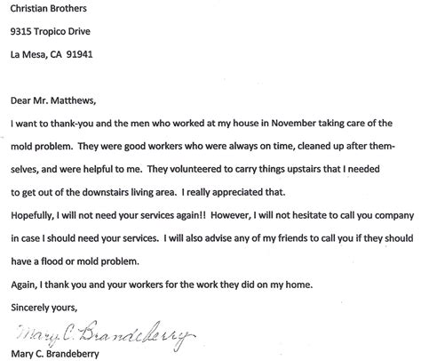 Insurance Claim Letter For Flood Damage Water Damage Removal Encinitas Christian Brothers Restoration