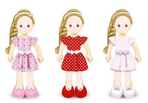 design doll gallery rag doll designs on behance