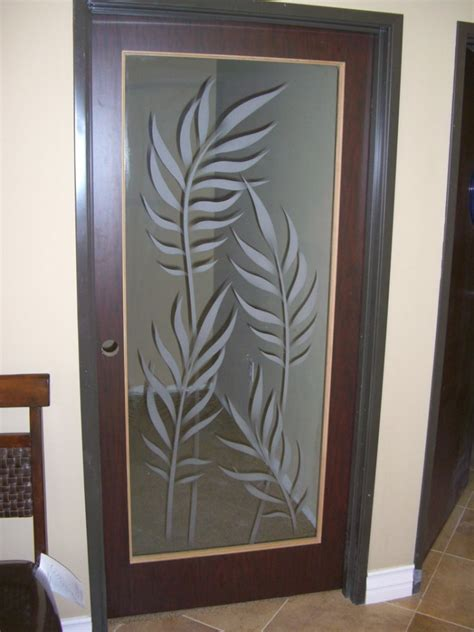 Interior Doors With Frosted Glass Inserts Ferns Interior Glass Door Inserts Sans Soucie