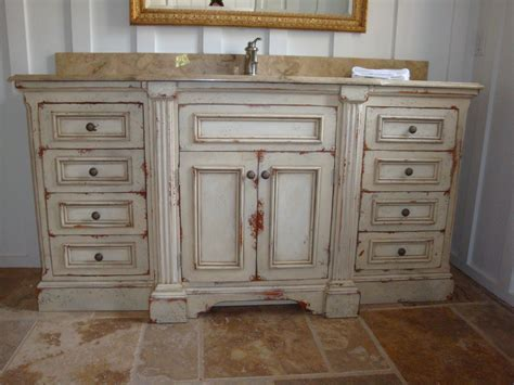 distressed wood bathroom cabinet captivating design ideas of english country kitchen