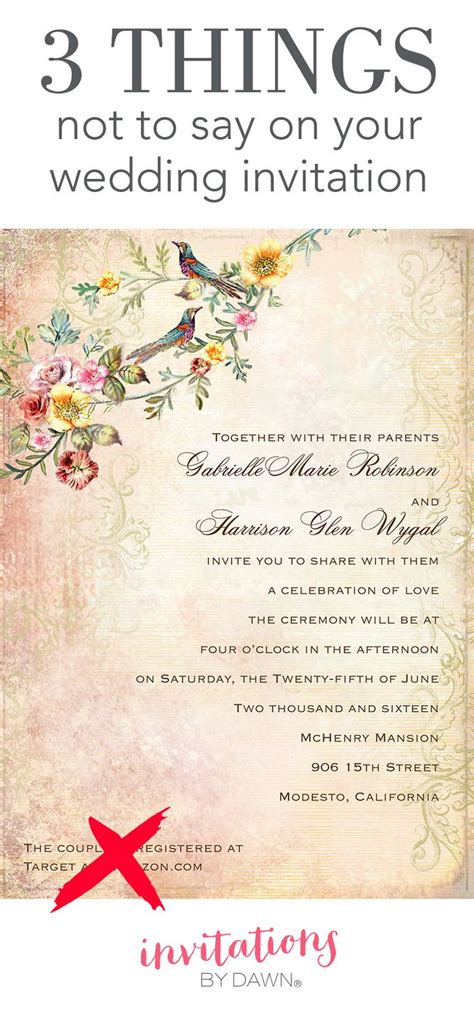 what do i say on a wedding invitation 267 best images about wedding help tips on